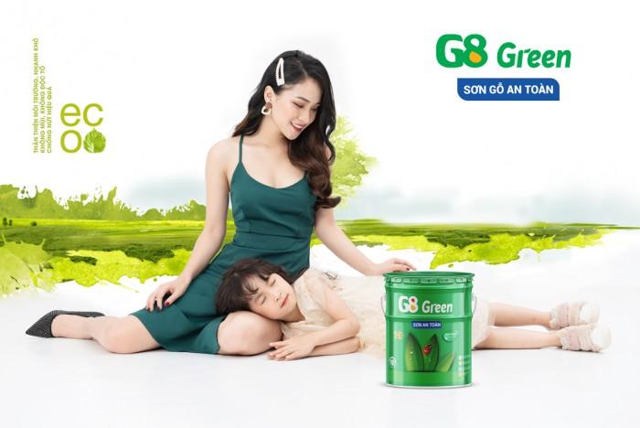 SƠN GỖ GỐC NƯỚC G8 GREEN